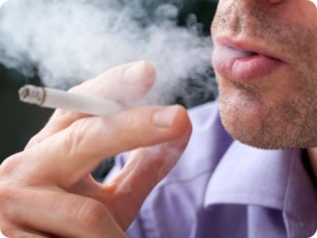 smoking affects semen fertility